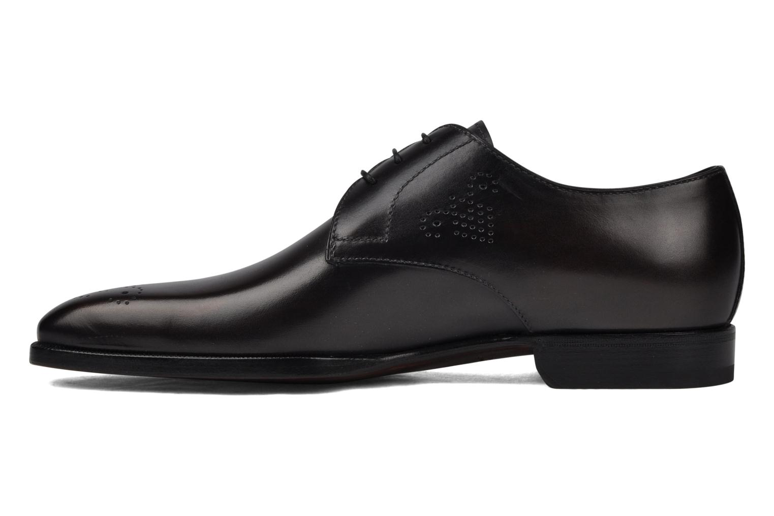 Lace-up shoes StefanoBi Fondi Black front view